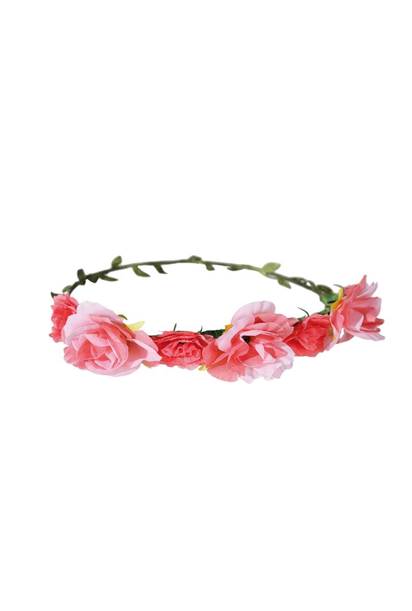 Blomsterkrans, rosa