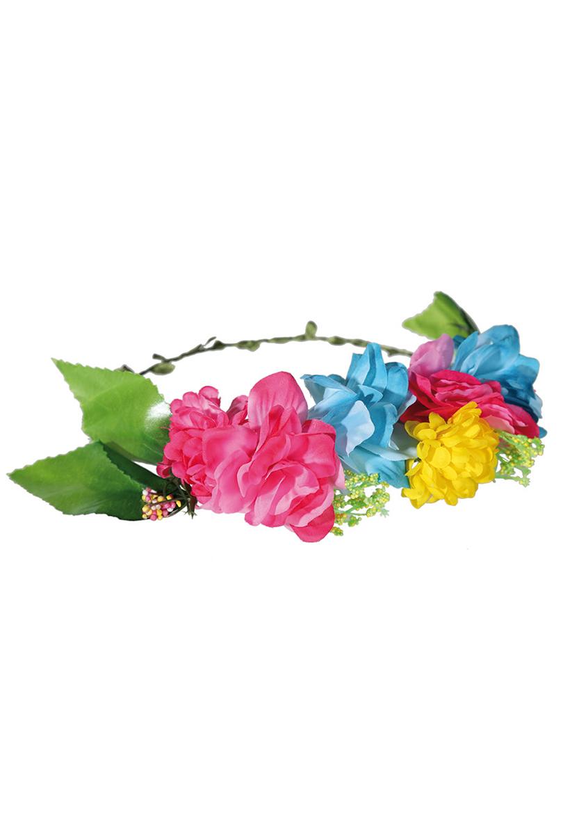 Blomsterkrans, flerfärgad