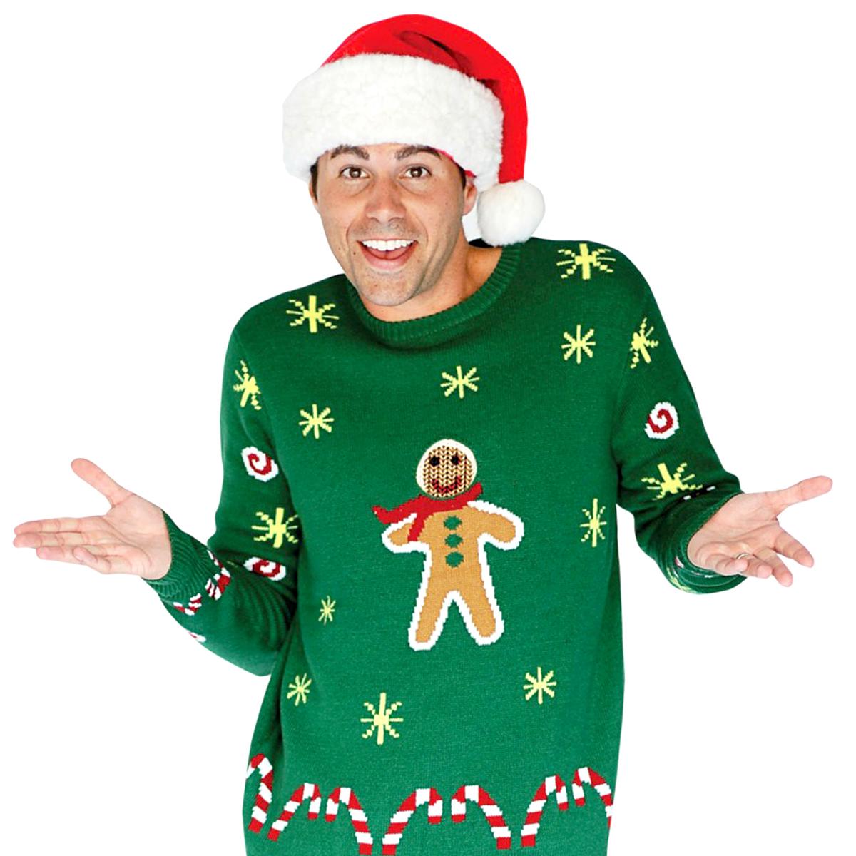 Jultröja Gingerbread - XL