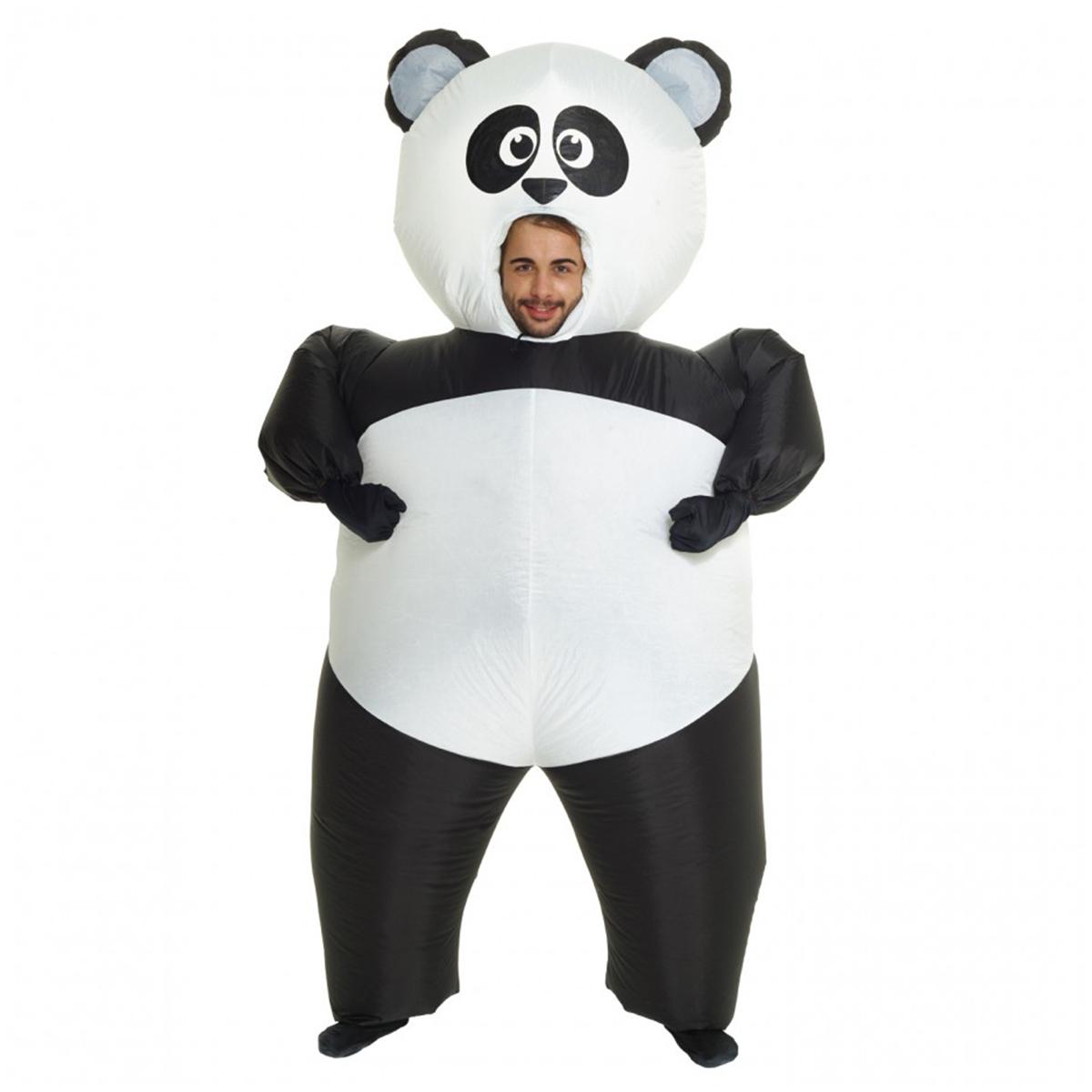 Morphsuit, Uppblåst panda