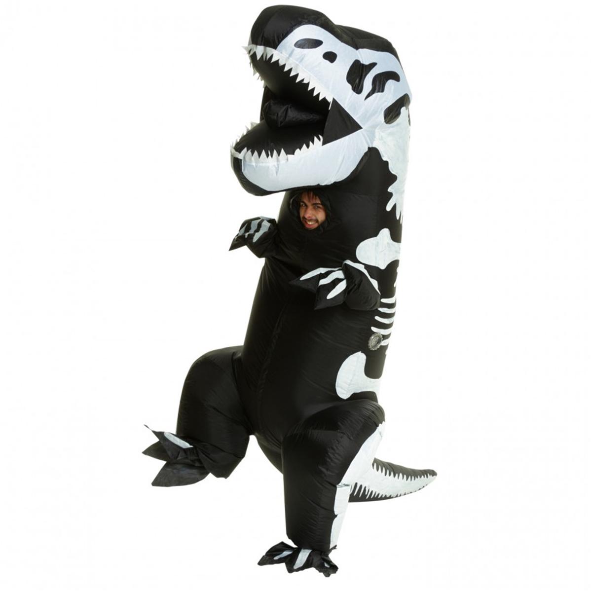 Morphsuit, Uppblåsbart skelett T-rex