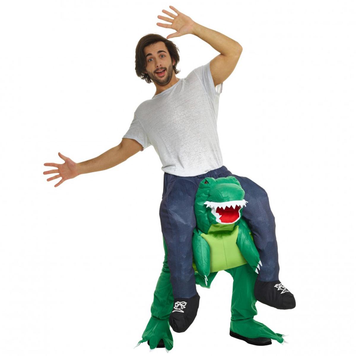 Morphsuit, Piggyback T-rex
