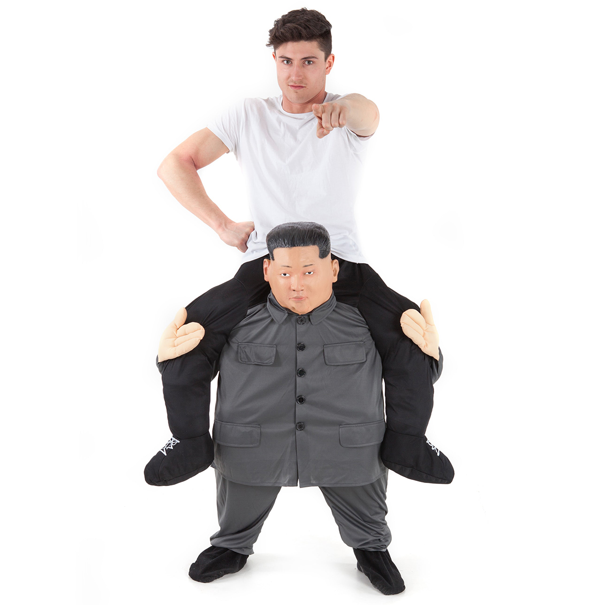 Piggyback, Kim Jong-un