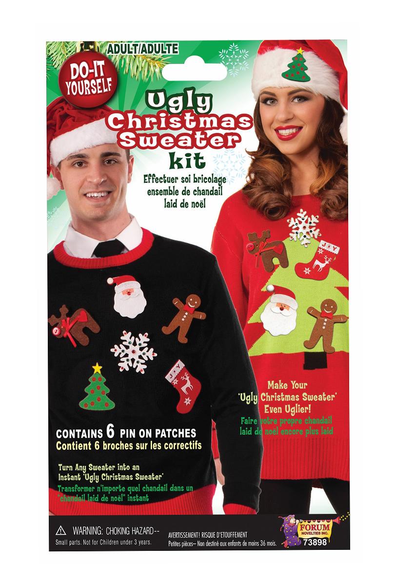 Klistermärken jultröja  gör din egna