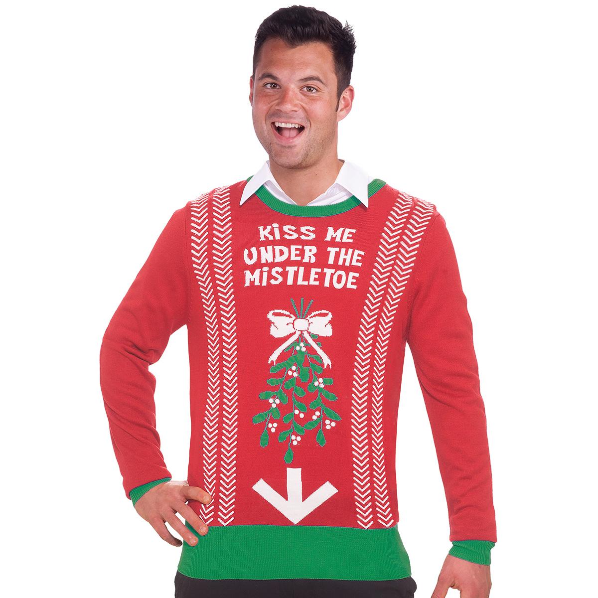 Jultröja  mistel XL