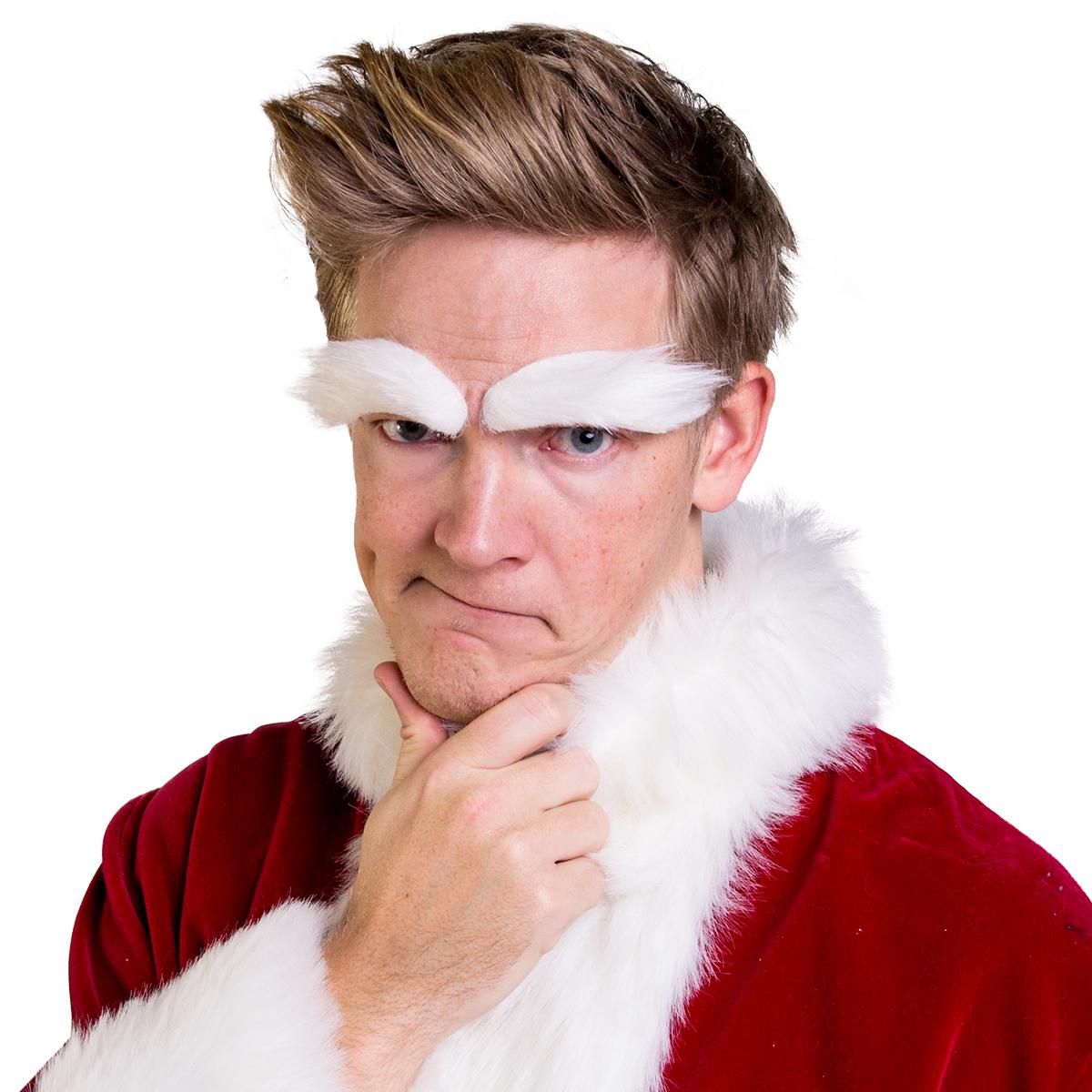 Ögonbryn, Jultomte