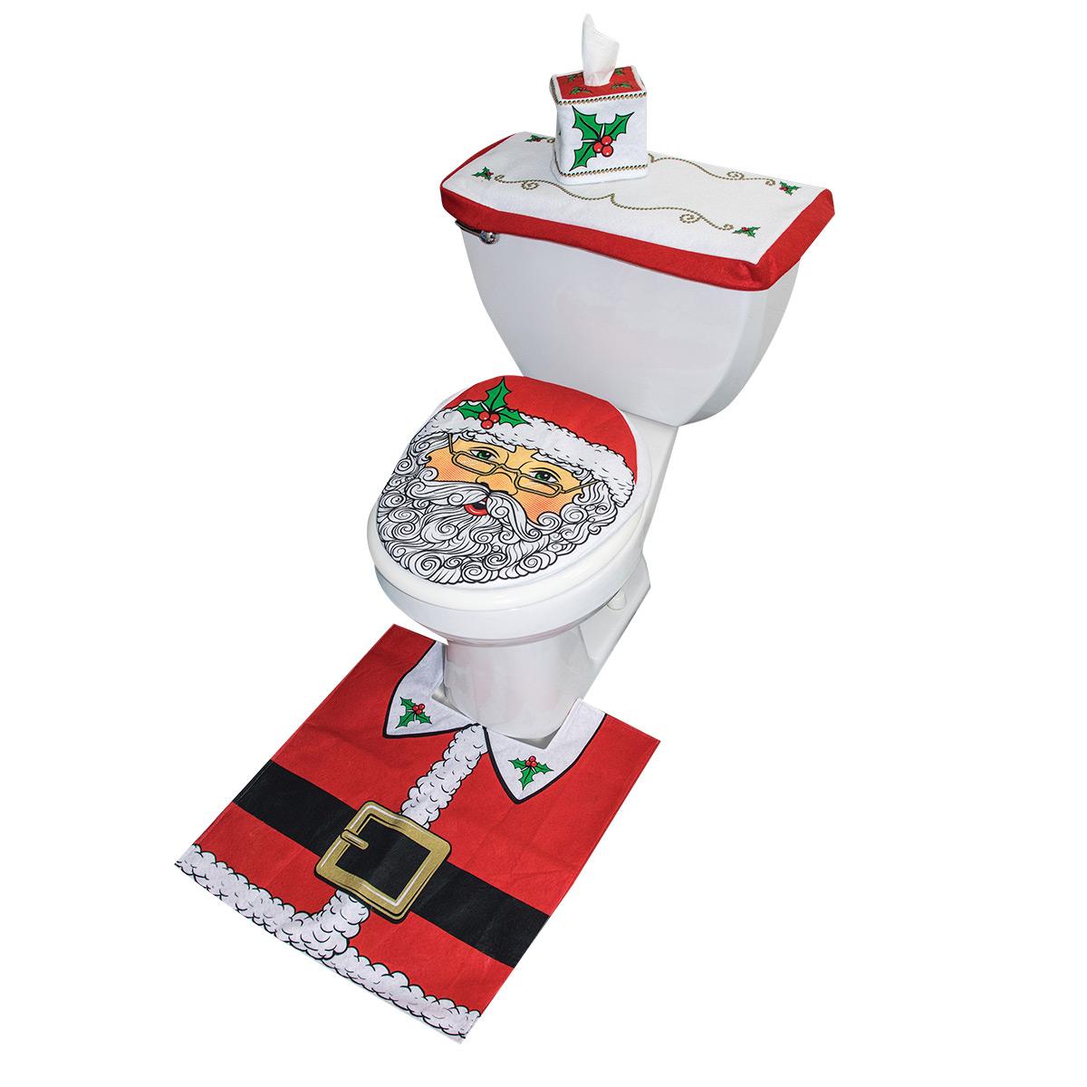 Dekoration, toalett jul