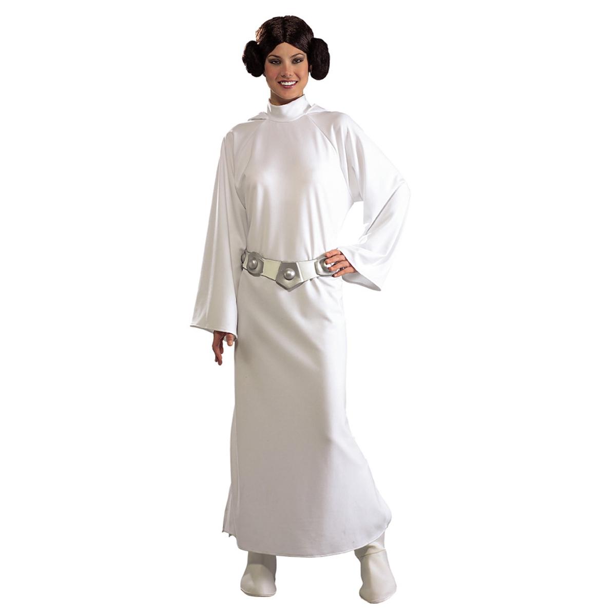 Dräkt, prinsessan Leia deluxe