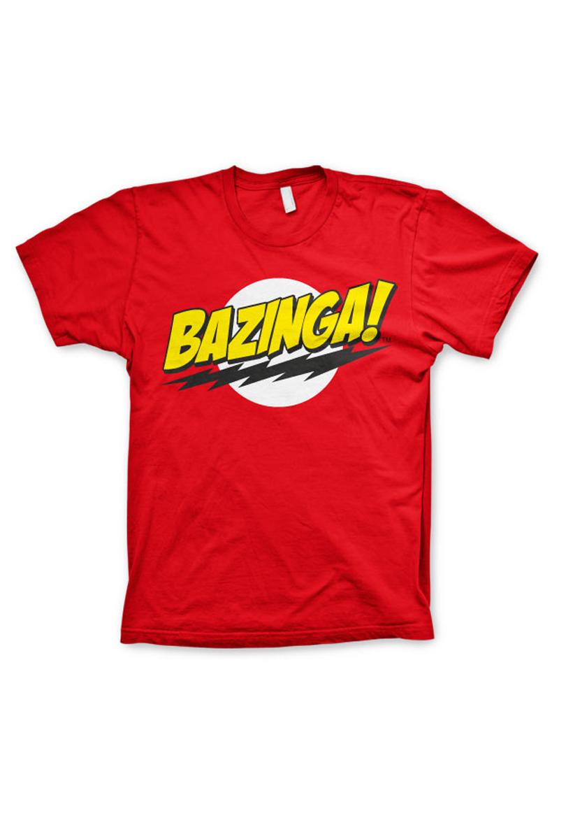 T-shirt, Bazinga!