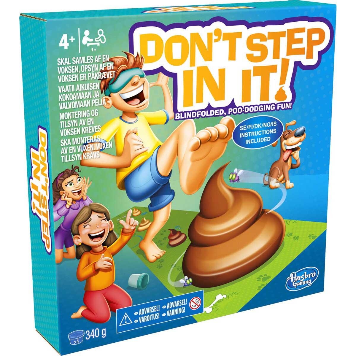 Spel, Don't step in it