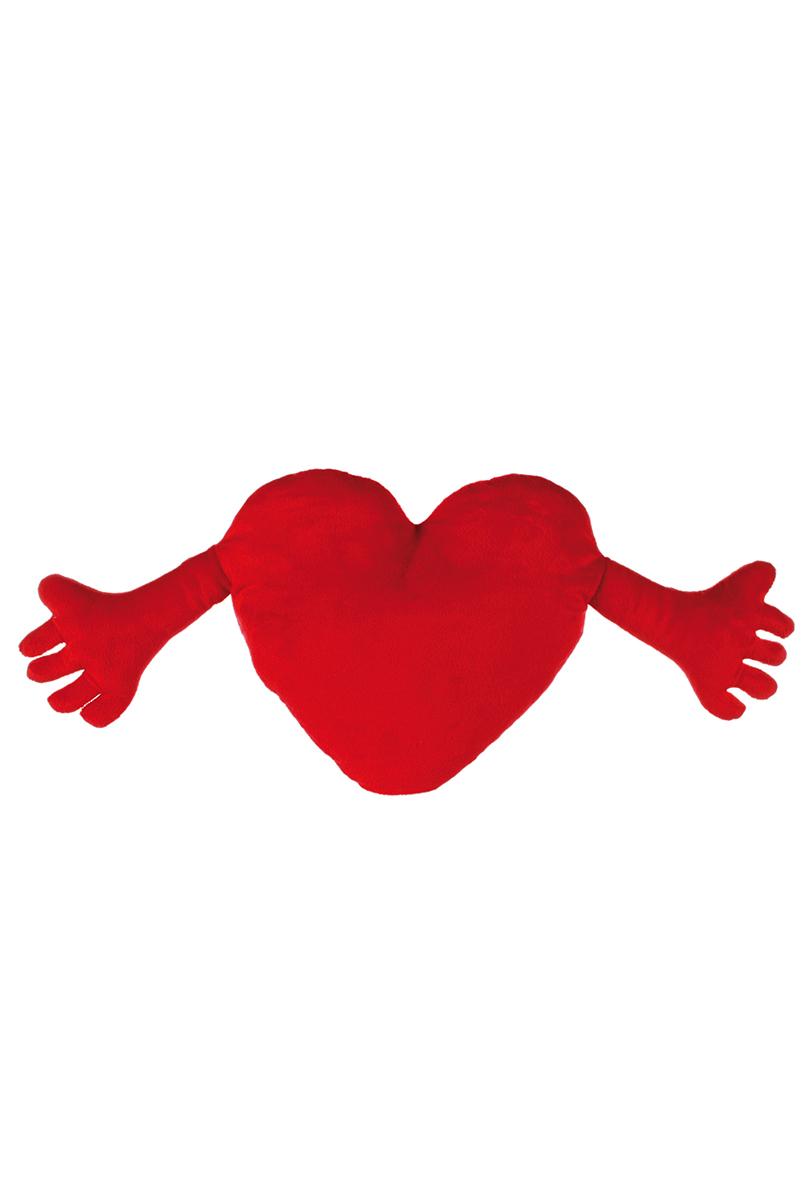 Kudde Hjärta med händer