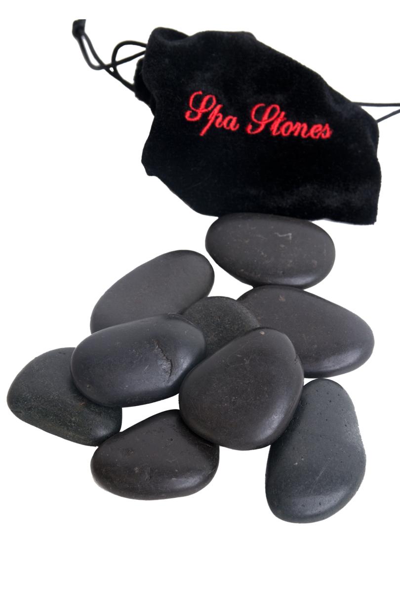 Massagestenar, hot stone