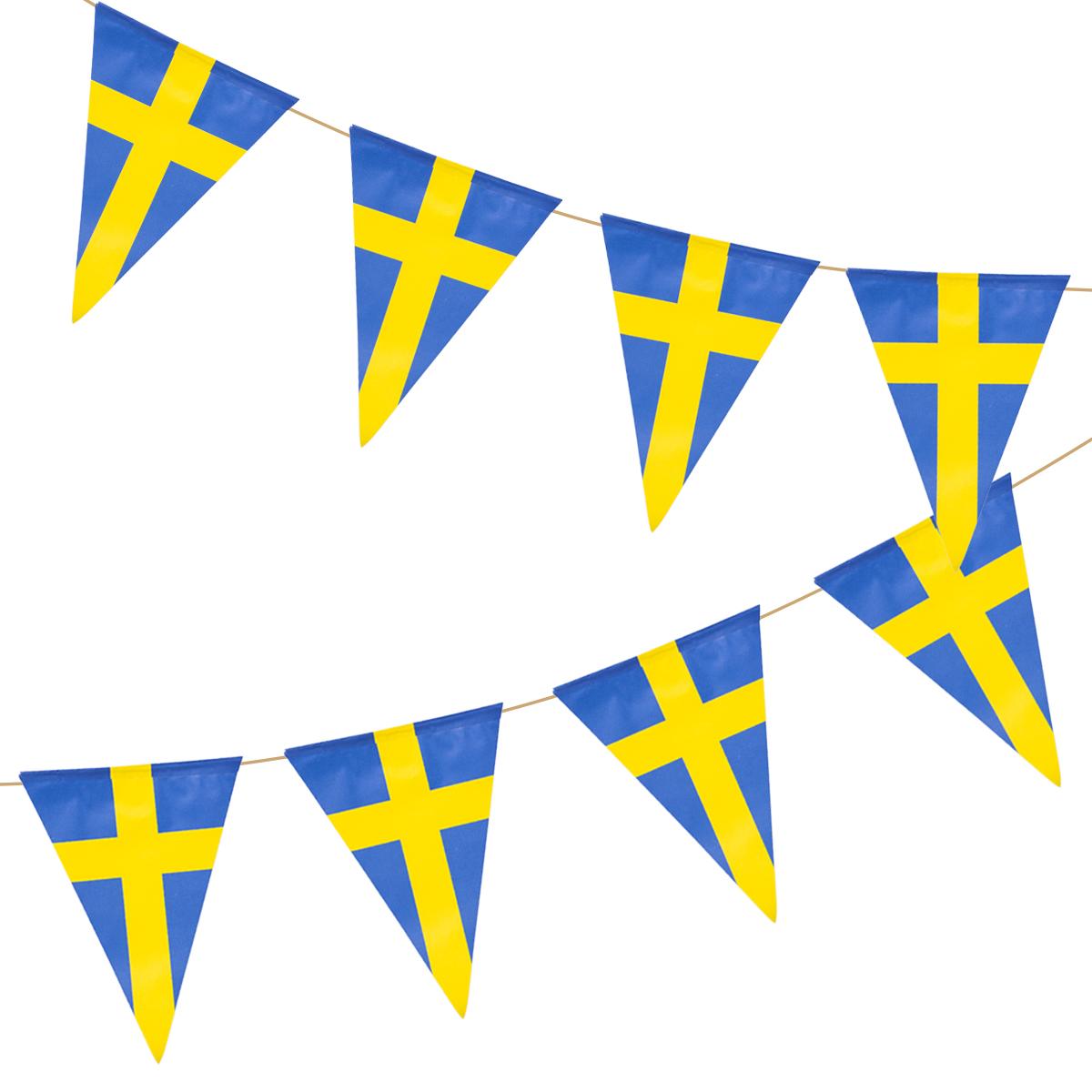 Flaggspel, Sverige 11 flaggor