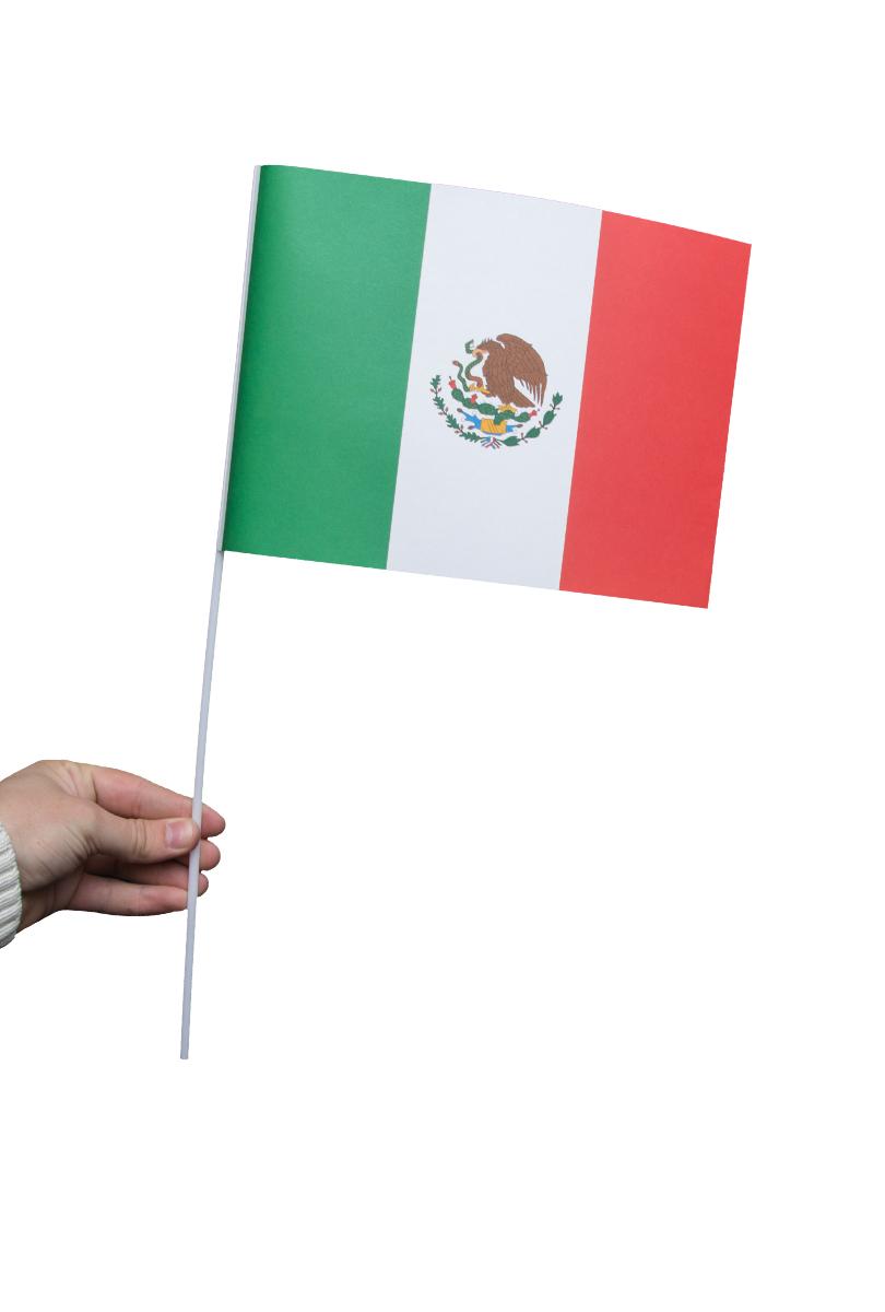 Pappersflagga, Mexiko