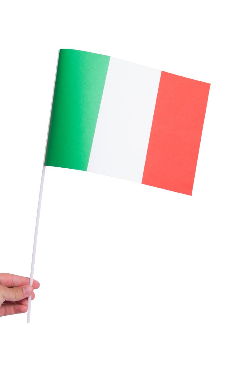 Pappersflagga, Italien