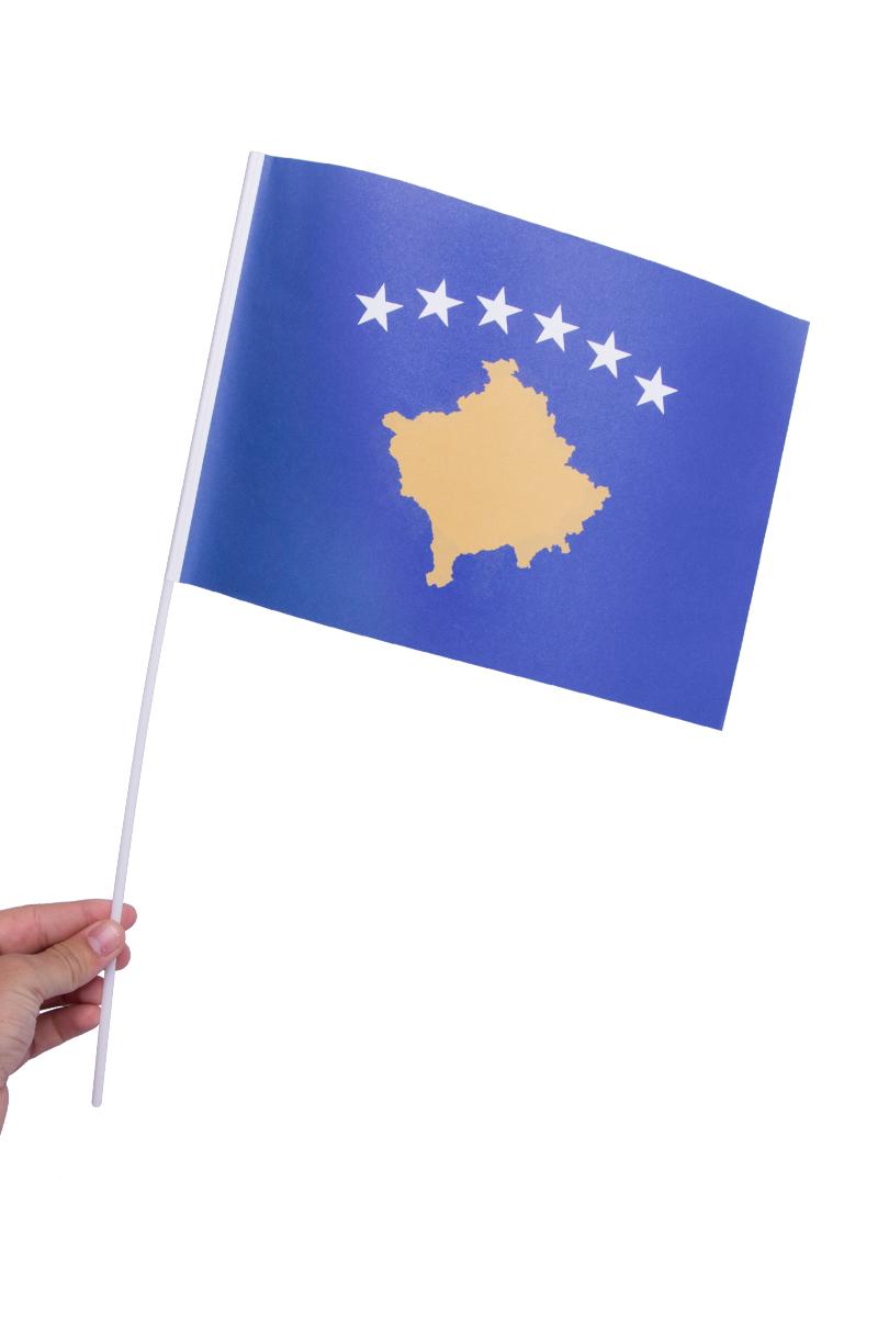 Pappersflagga, Kosovo