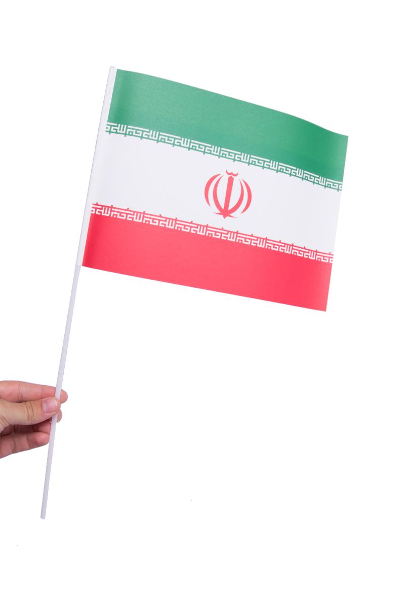 Pappersflagga, Iran