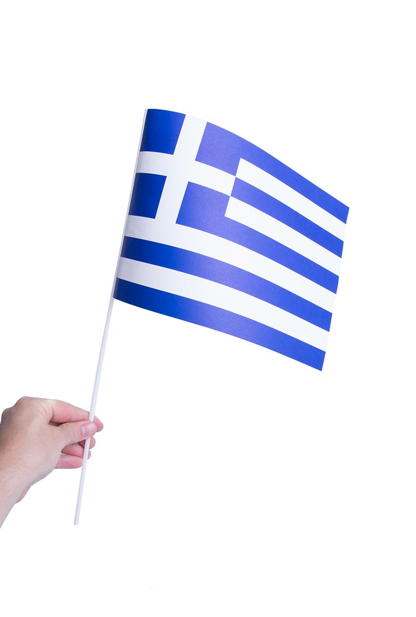 Pappersflagga, Grekland