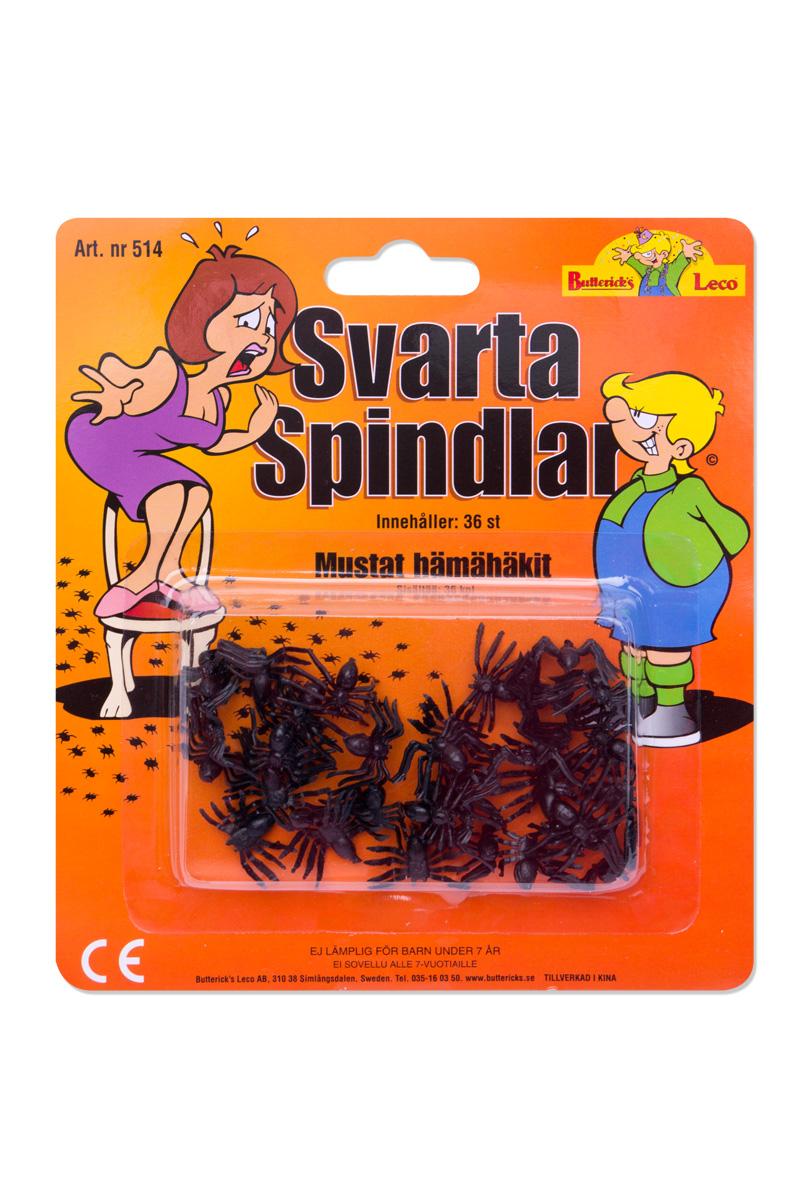 Svarta spindlar, 36 st