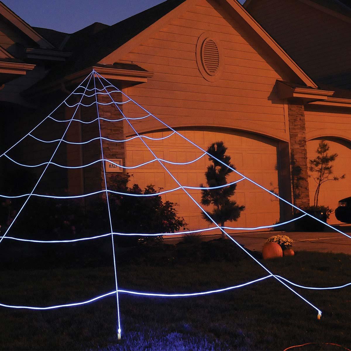 Spindelnät, mega för utomhusbruk