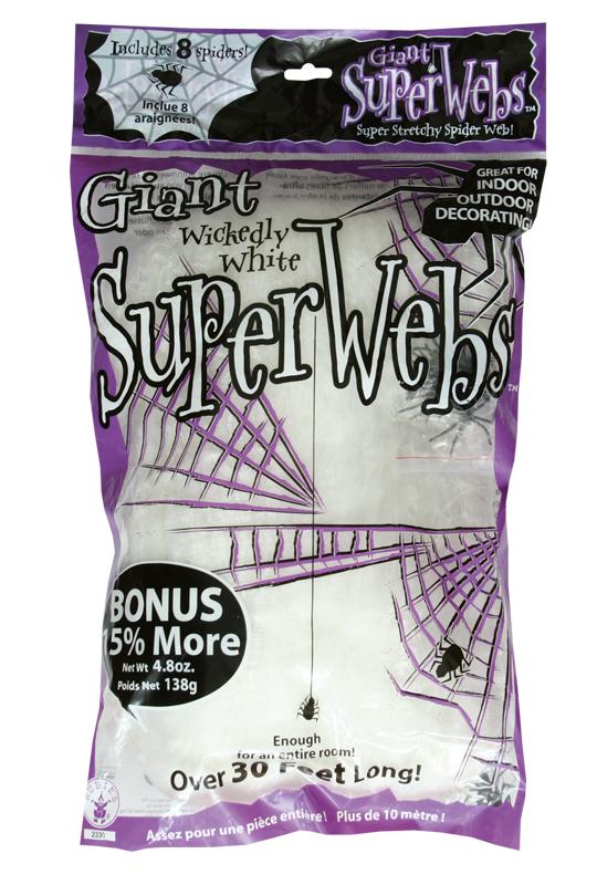 Spindelnät jättepåse 138 g