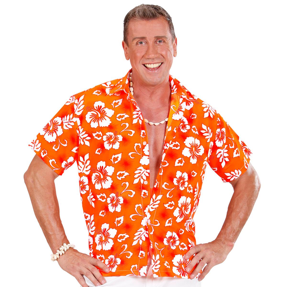 Hawaii Skjorta Orange XL