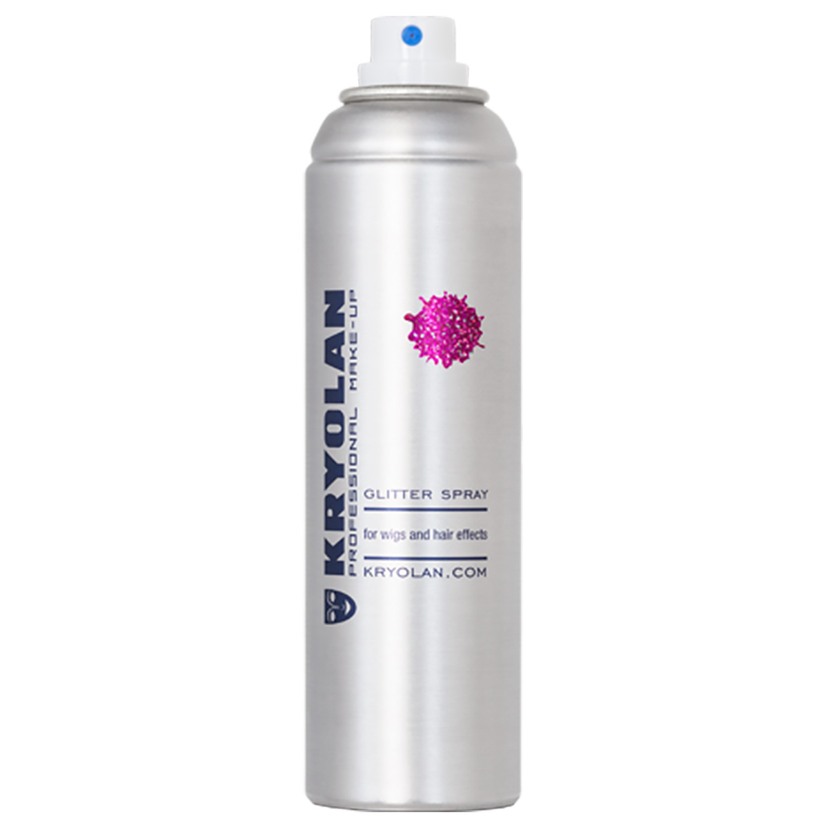 Glitter spray, lila