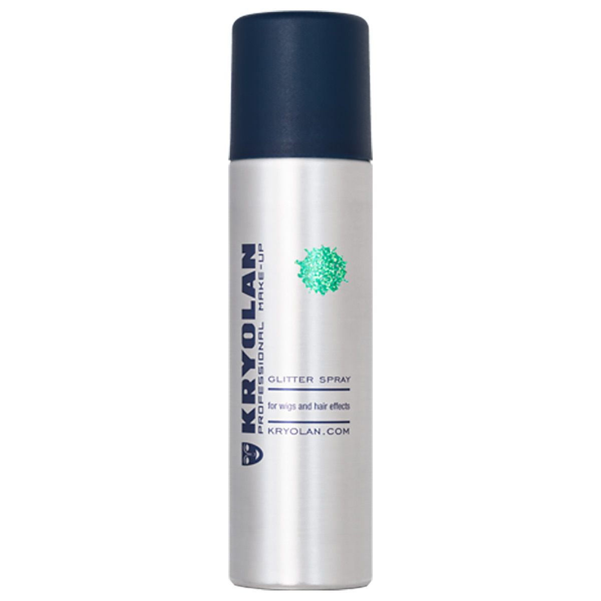 Glitter spray, grön