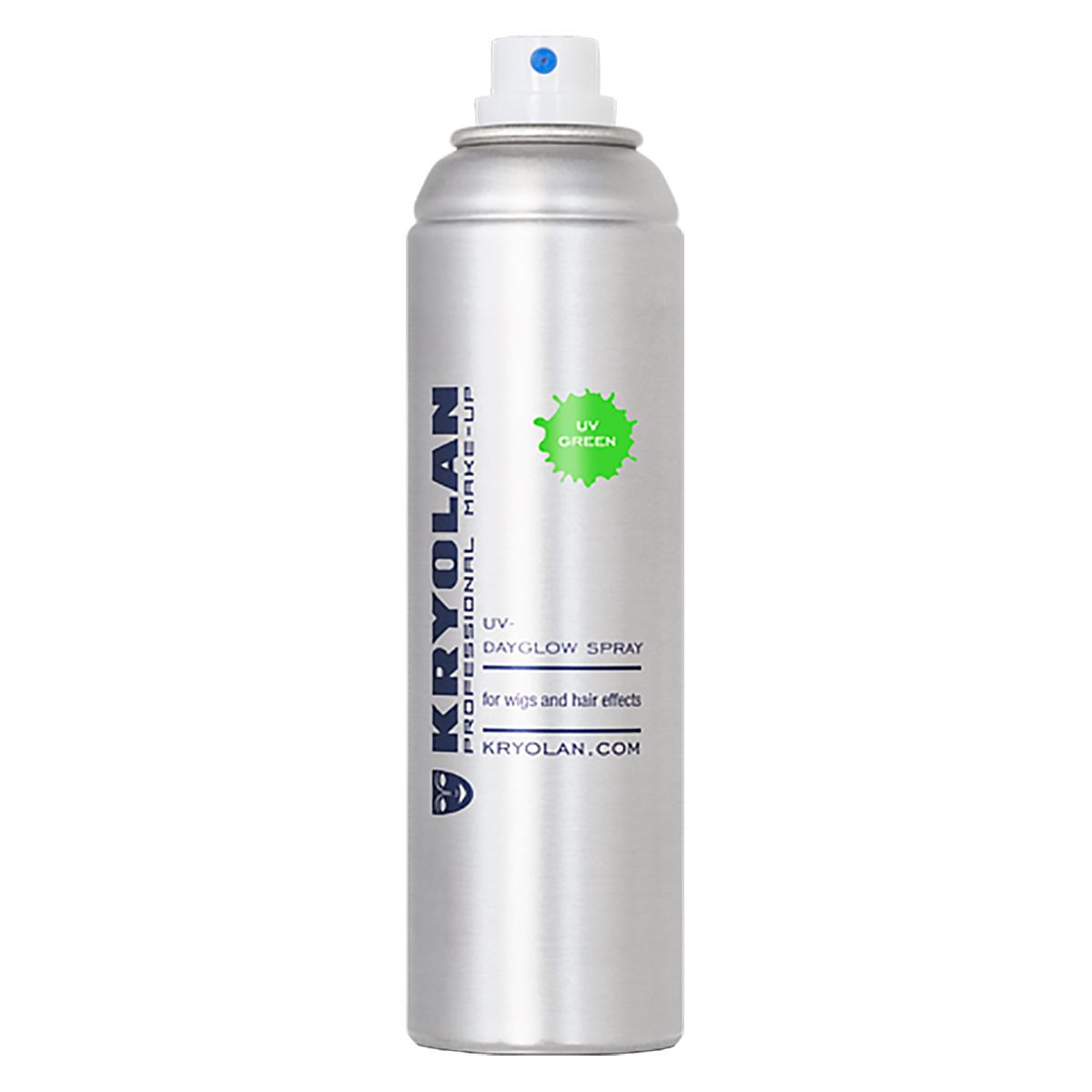 UV hårspray, grön