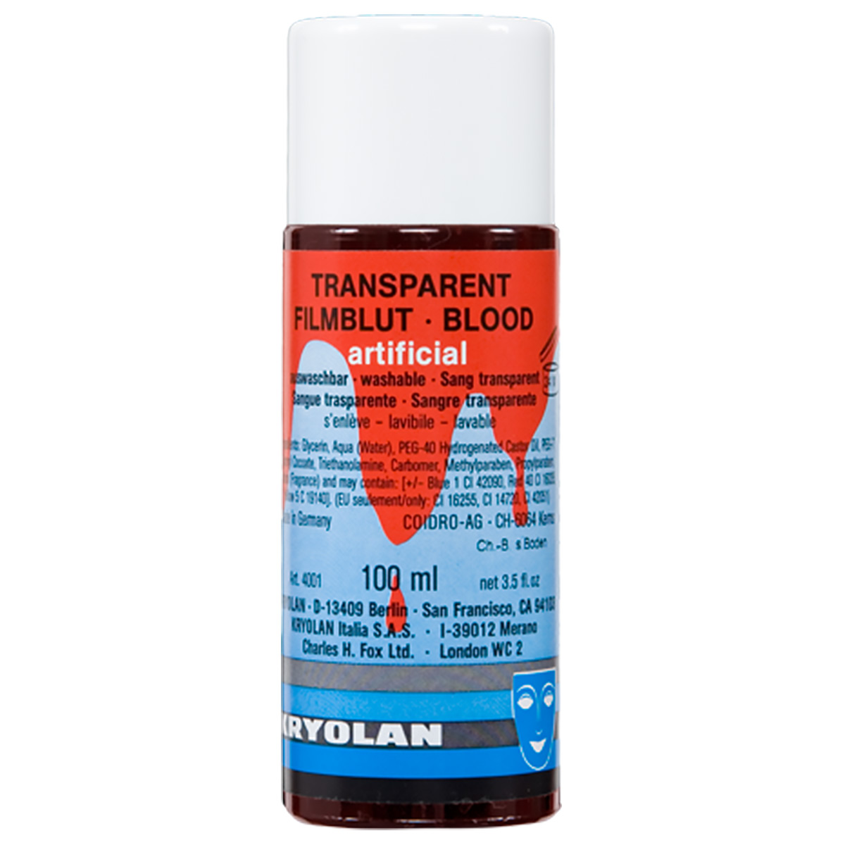 Blod, transparent 100ml medium