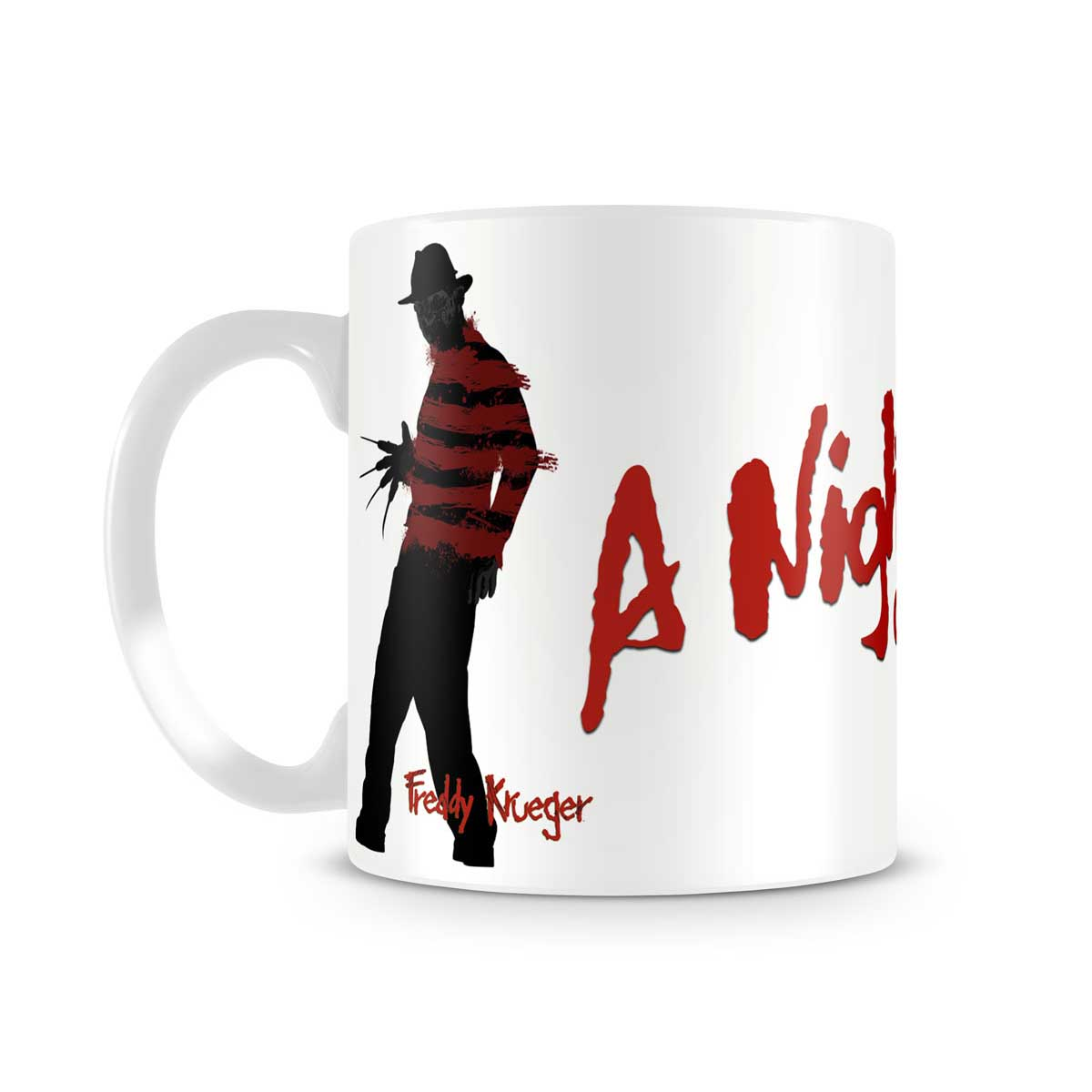 Mugg, Freddy Krueger a nightmare on Elm street