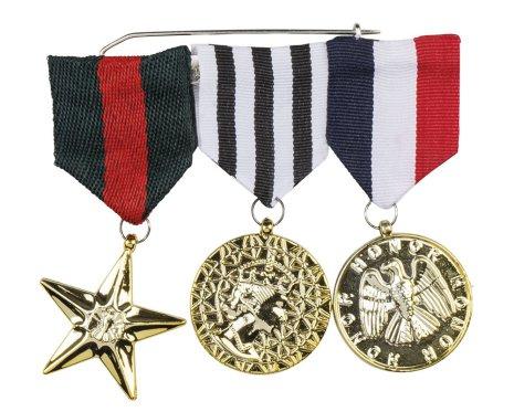 Medaljer  militär