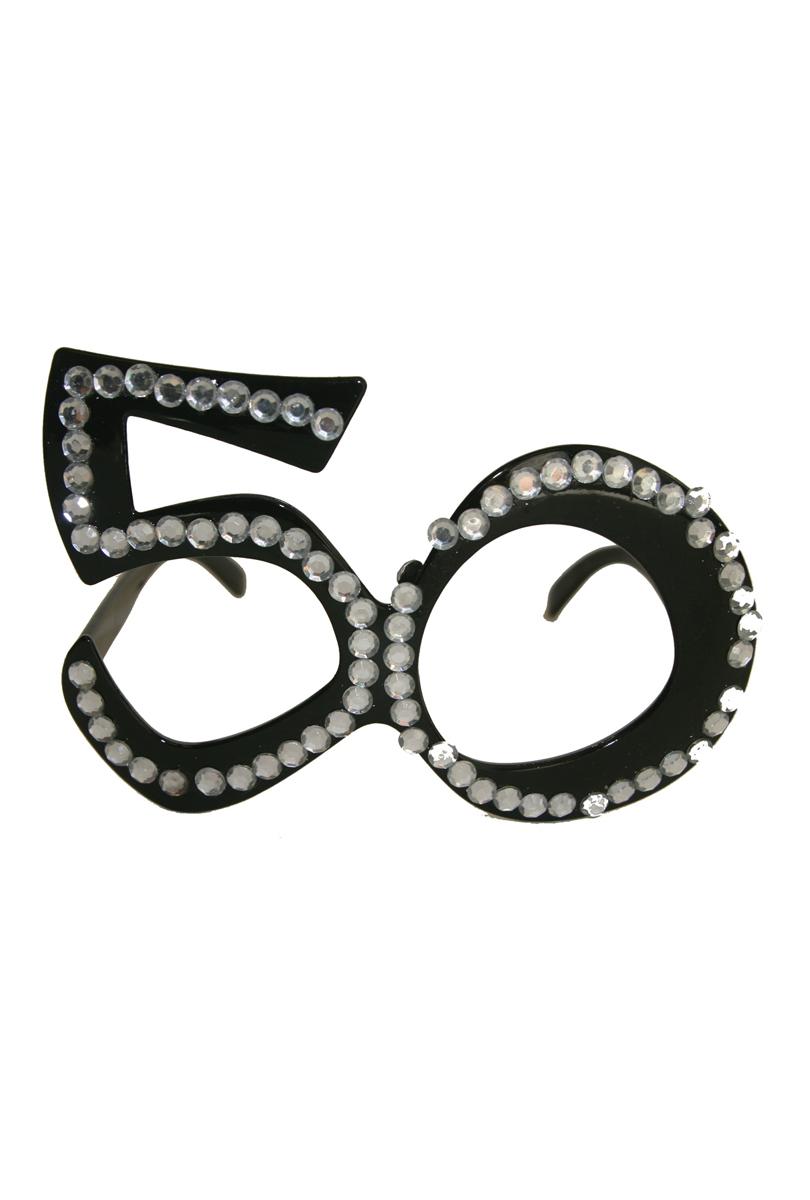 Glasögon 50, svarta