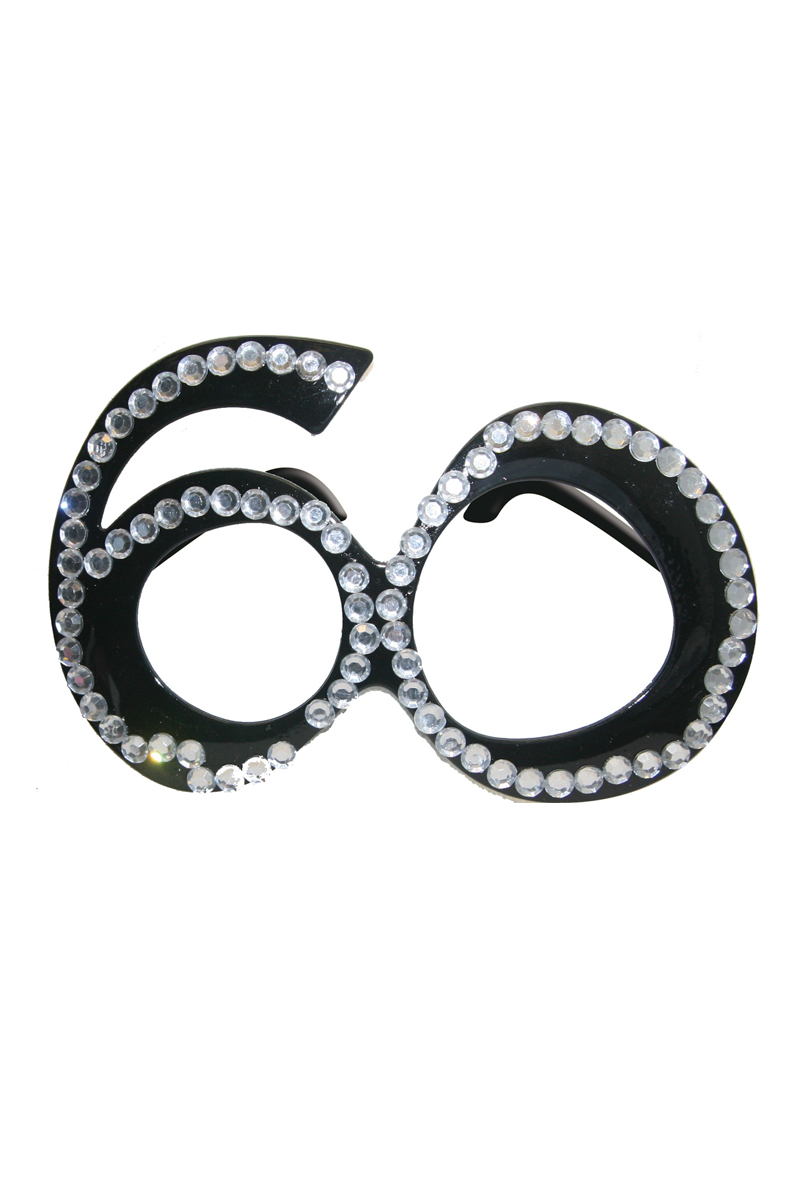 Glasögon 60, svarta