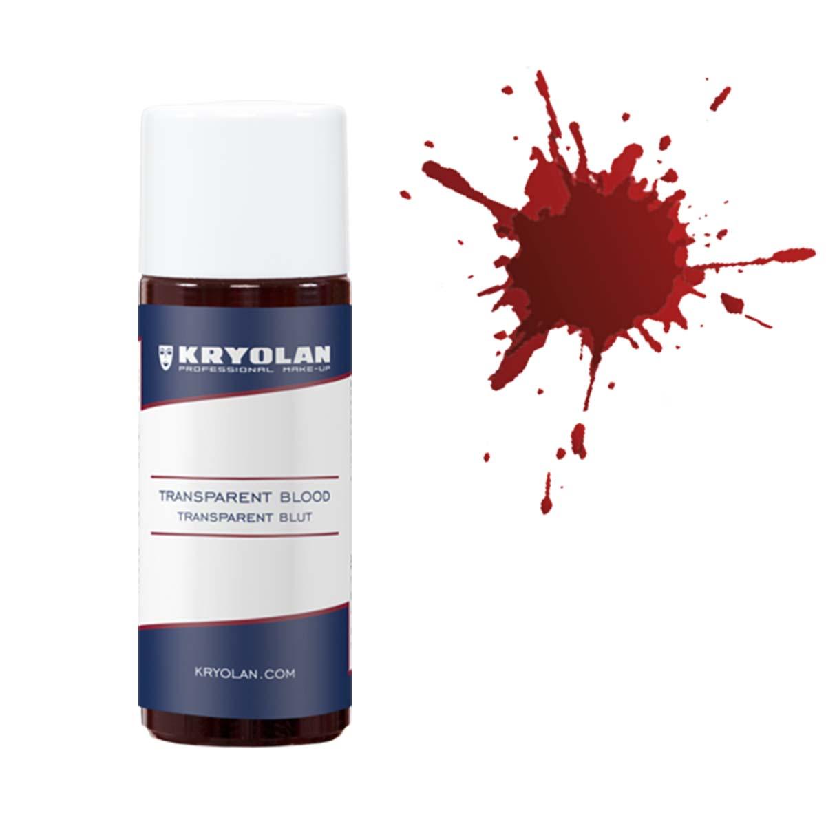 Blod 50 ml transparent  Kryolan -Mellan