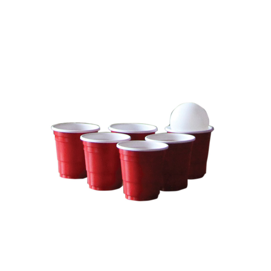 Spel, shot pong