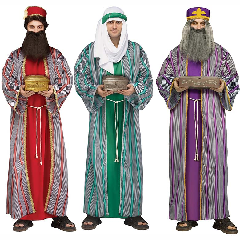 Dräkt, tre vise männen
