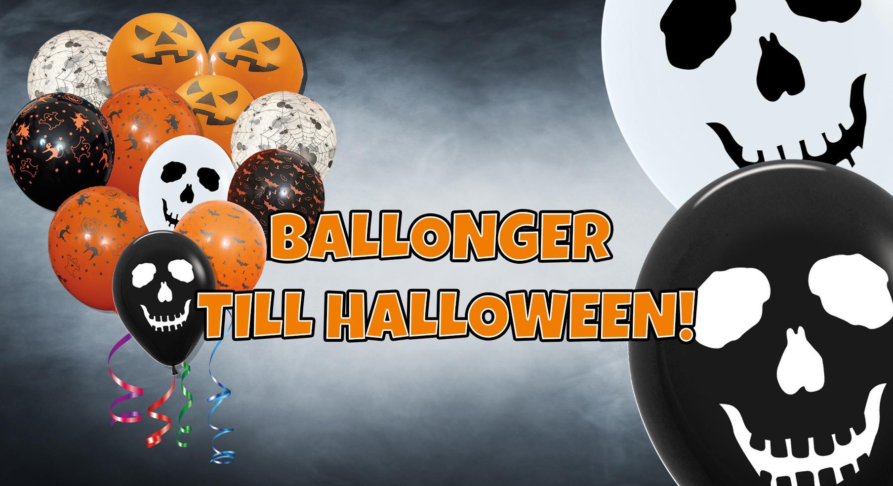 Ballonger till Halloween