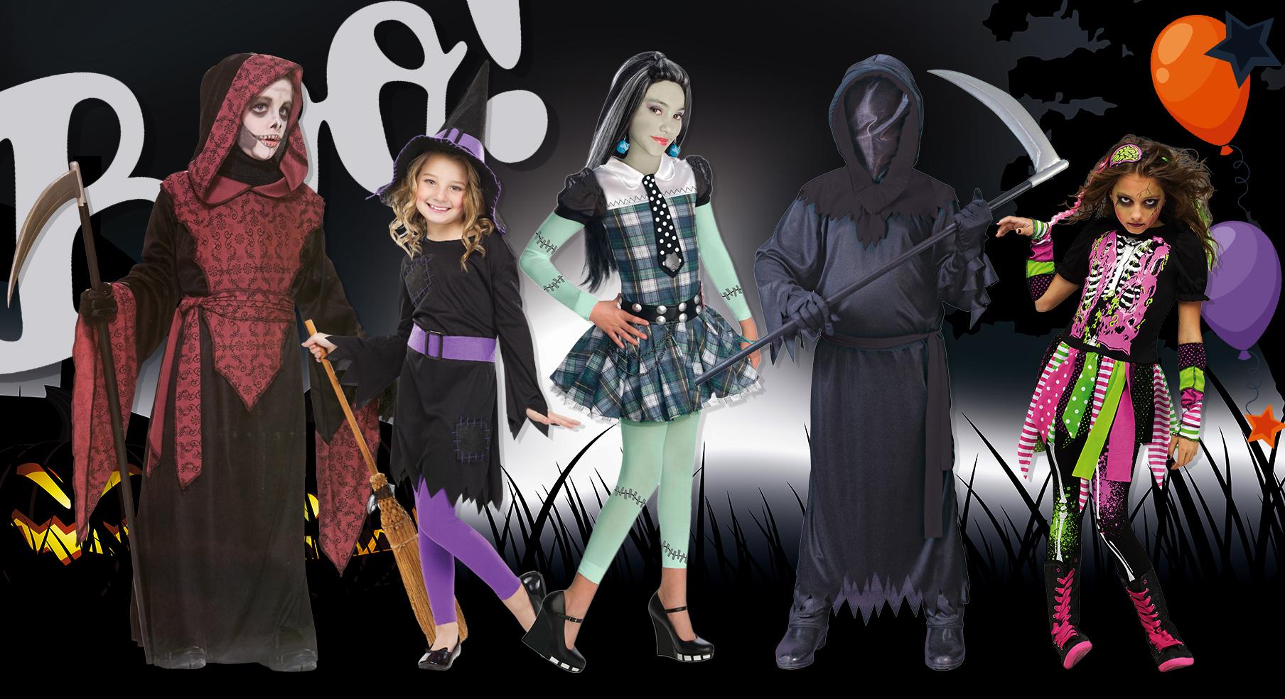 Halloweendräkter för barn