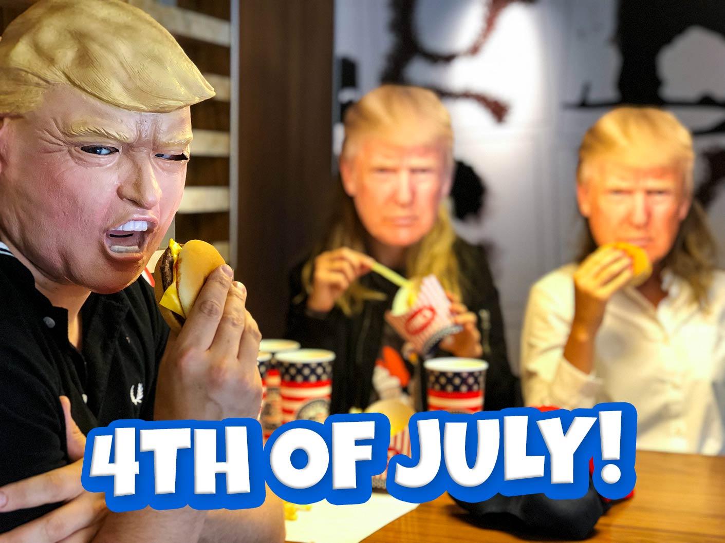 Fira den amerikanska nationaldagen, 4th of July!