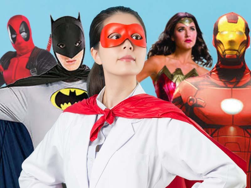 Superhjältar av vår tid