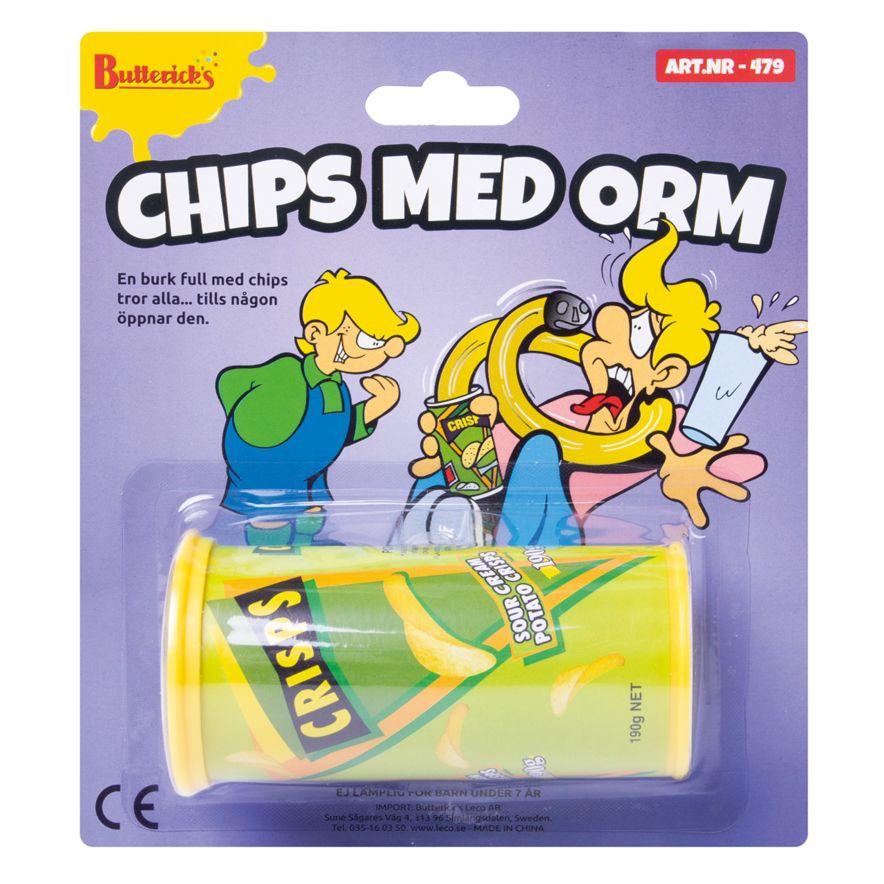 Chips med orm