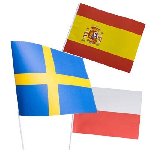 pappersflaggor gruppspelet